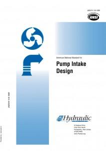 استاندارد ANSI /HI 9.8-1998 جهت طراحی حوضچه آبگیر پمپ