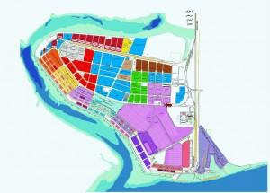 نقشه بندر امیر آباد