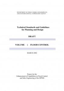 استاندارد ژاپن برای طراحی سازه های مهار سیلاب