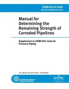 راهنمای تعیین مقاومت باقی مانده خطوط لوله دریایی خورده شده