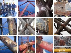 مروری بر روش های تشخیص آسیب در سکوهای ثابت نفتی